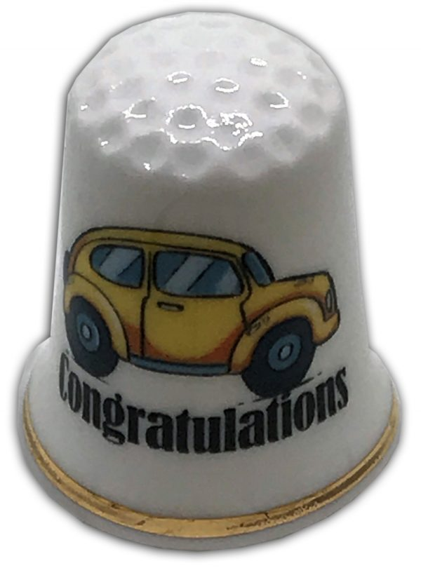 personalised driving test car china thimble