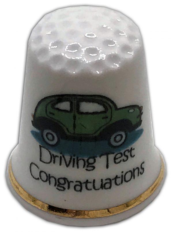 personalised driving test car china thimble
