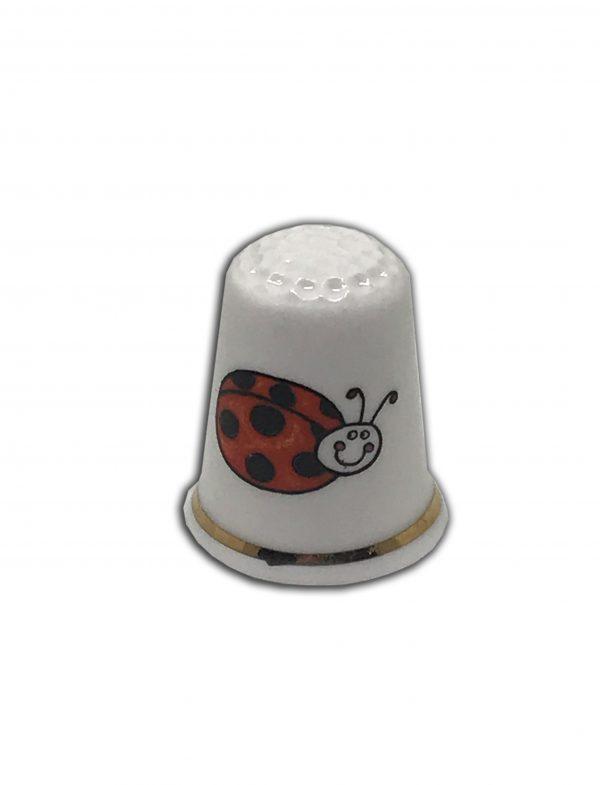 personalised ladybird thimble