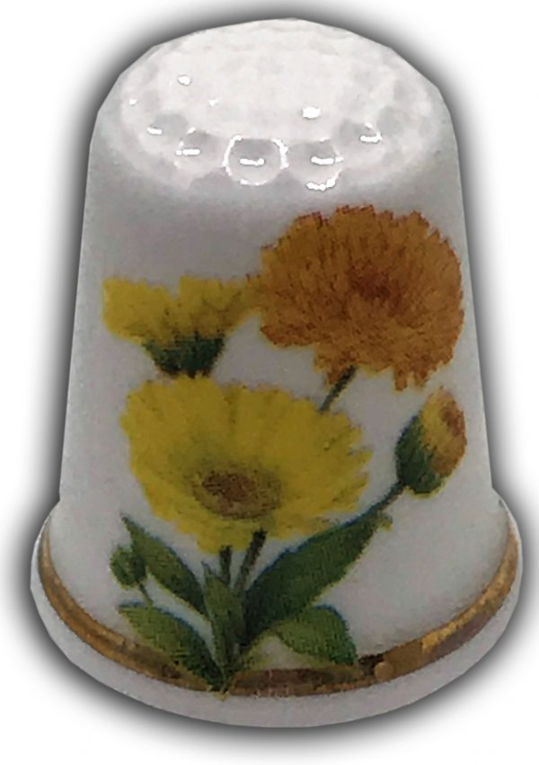 callendula personalised gift thimble