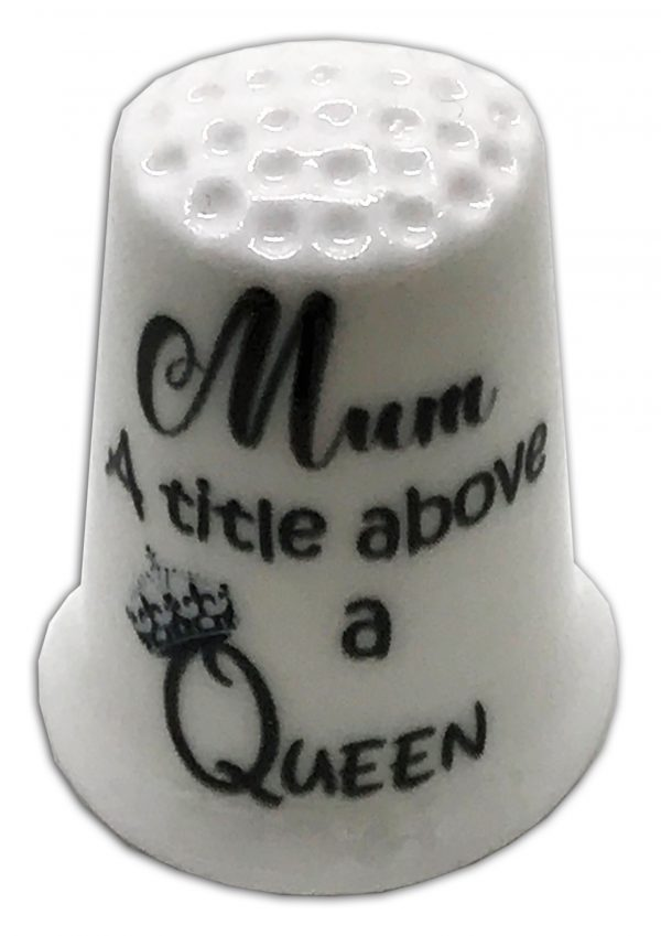 mother's day special personalised thimble