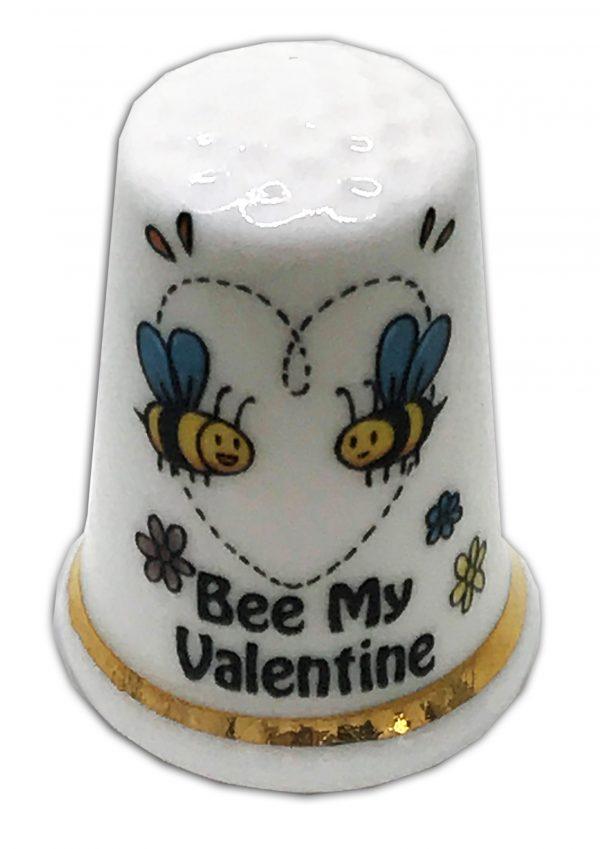 Valentine's Day Bee Thimble