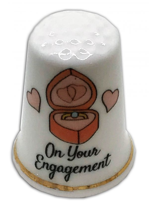 personalised engagement thimble