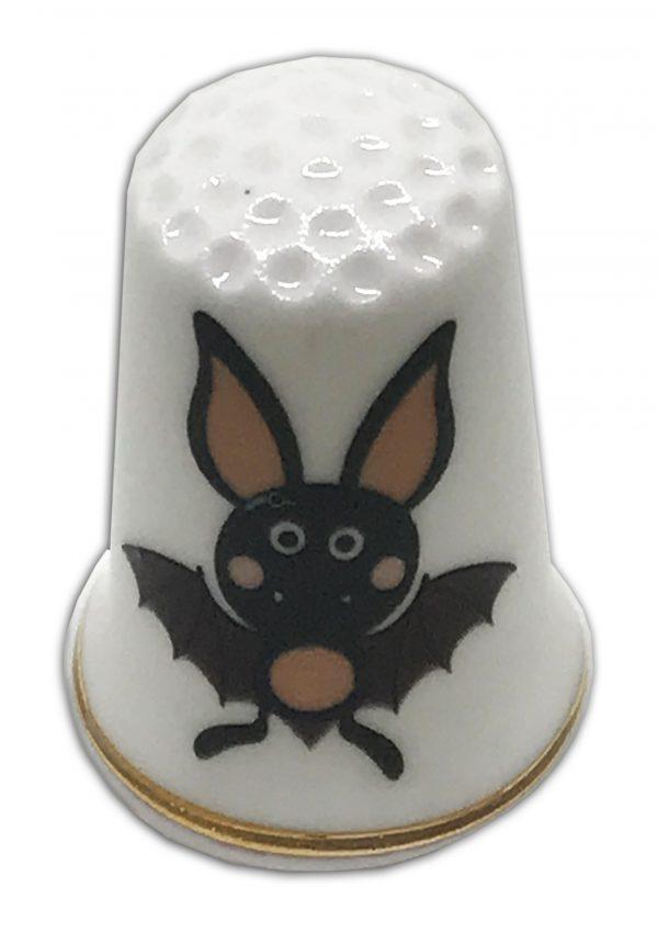 Halloween Themed Bat Thimble