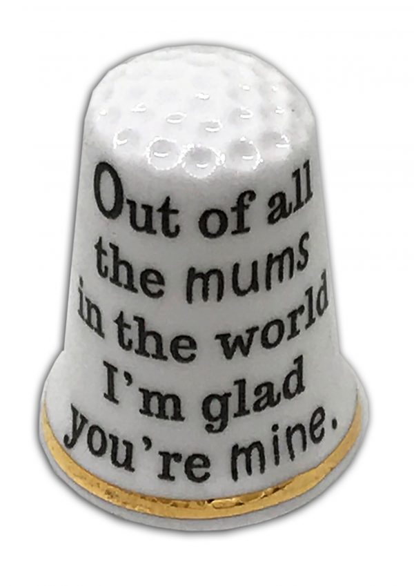 Mother's Day Special Mum's Personalised Thimble