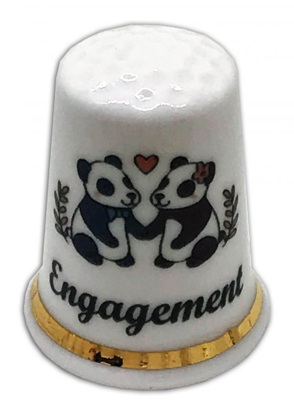 panda engagement china thimble