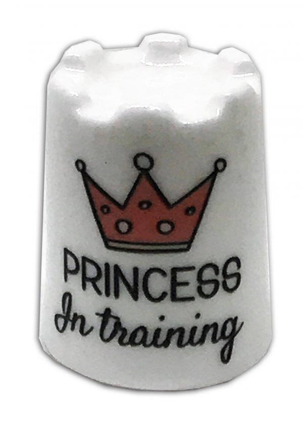 princess in training china thimble