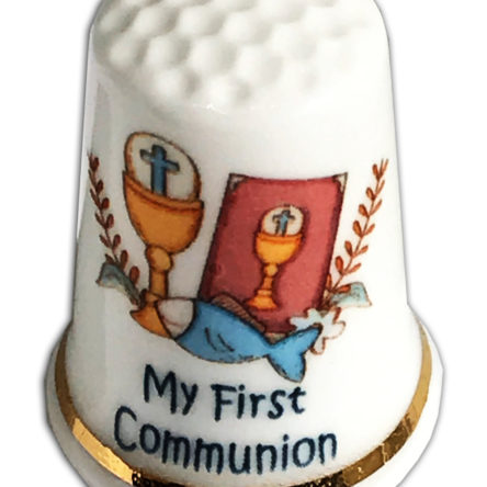 My First Communion Personalised Thimble Design 3