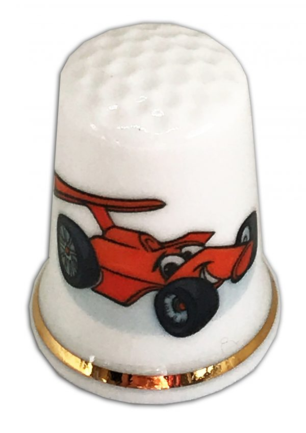 racing car kids china thimble