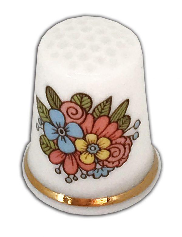 pastel posy ideal wedding engagement china thimble